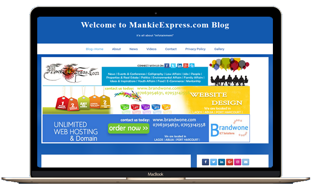 Joomla, Wordpress, website designer in Port Harcourt Nigeria