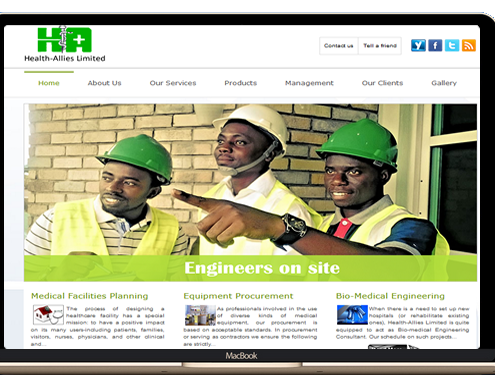 Port Harcourt's best web design company, best web designers in Nigeria
