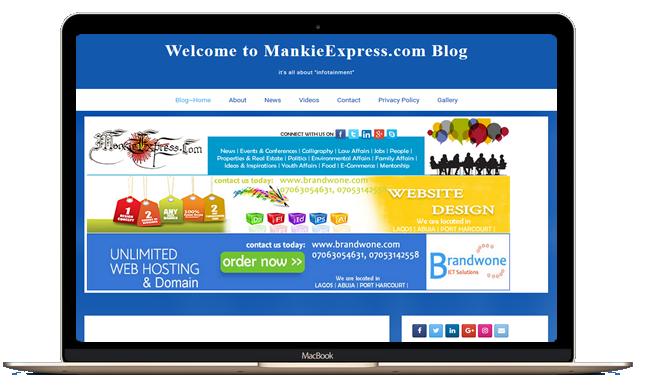 Joomla, Wordpress, website designer in Port Harcourt Nigeria